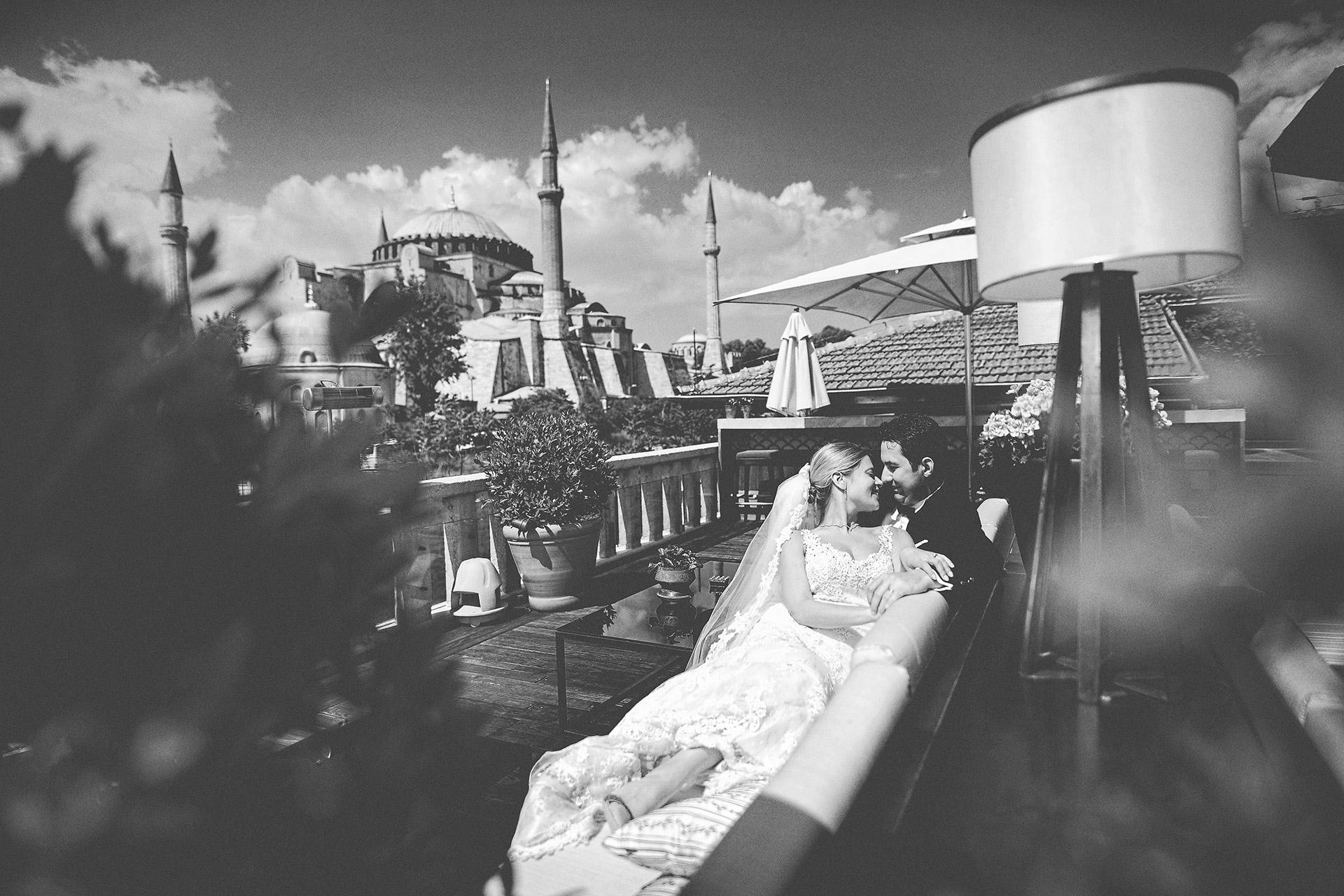 Ana & Serdar, Four Seasons resort, Bosporus, Istanbul