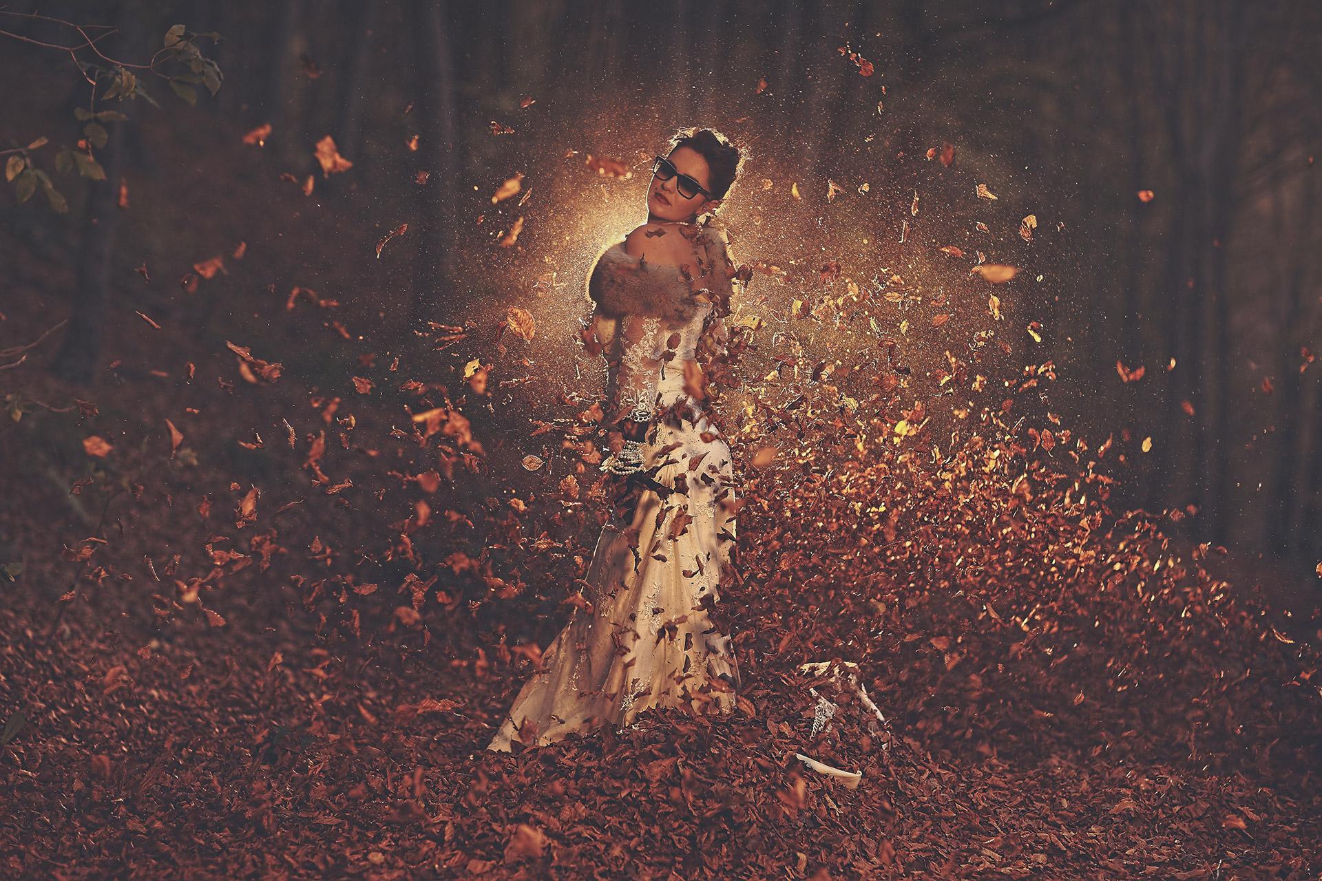 Art Deco autumn