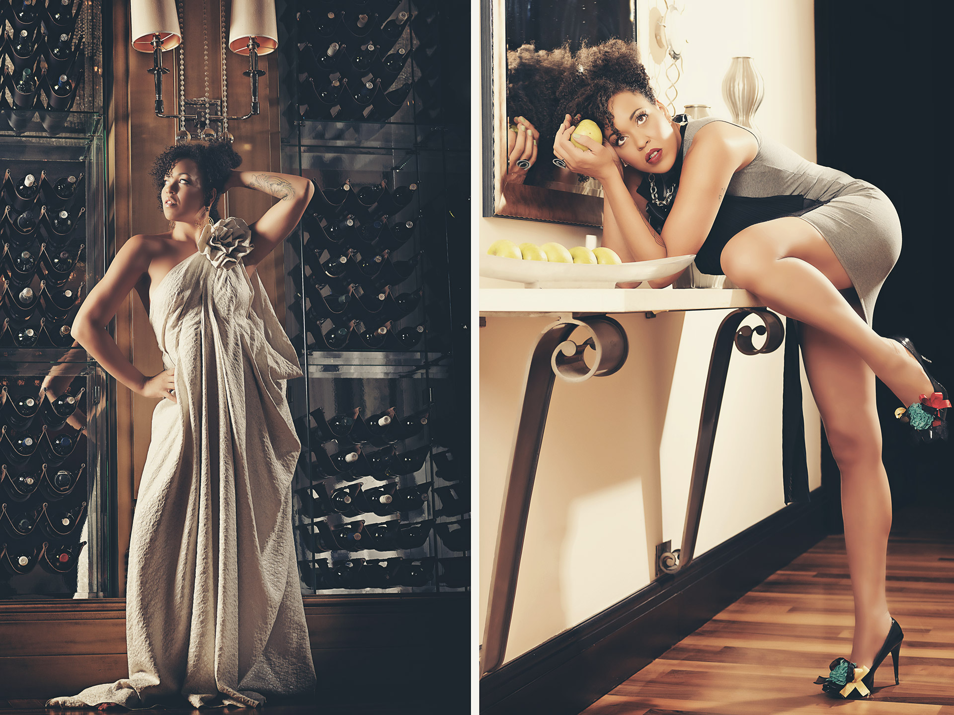 Maya Azucena editorial shooting