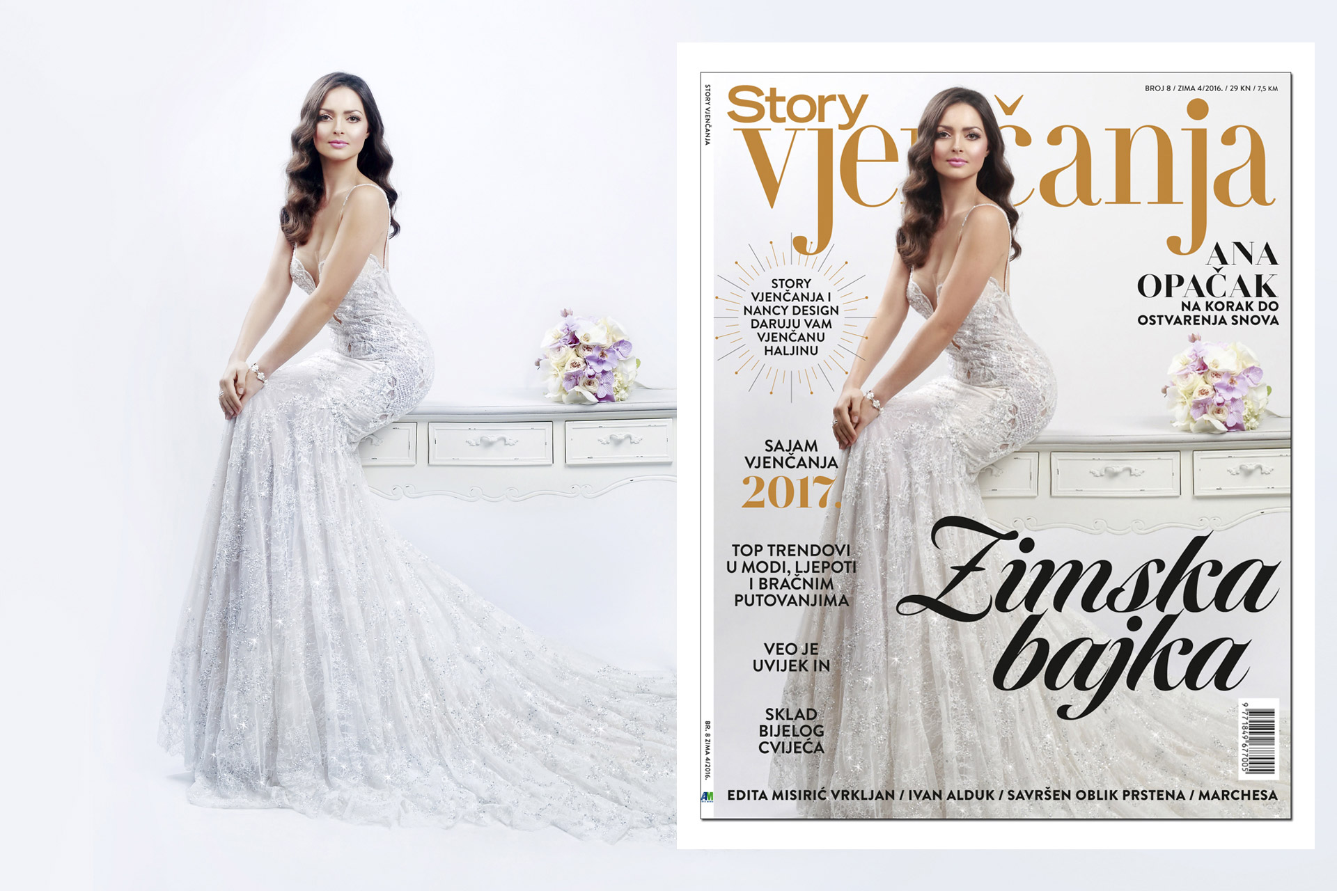 Story Vjencanja editorial, cover & bilboard shooting